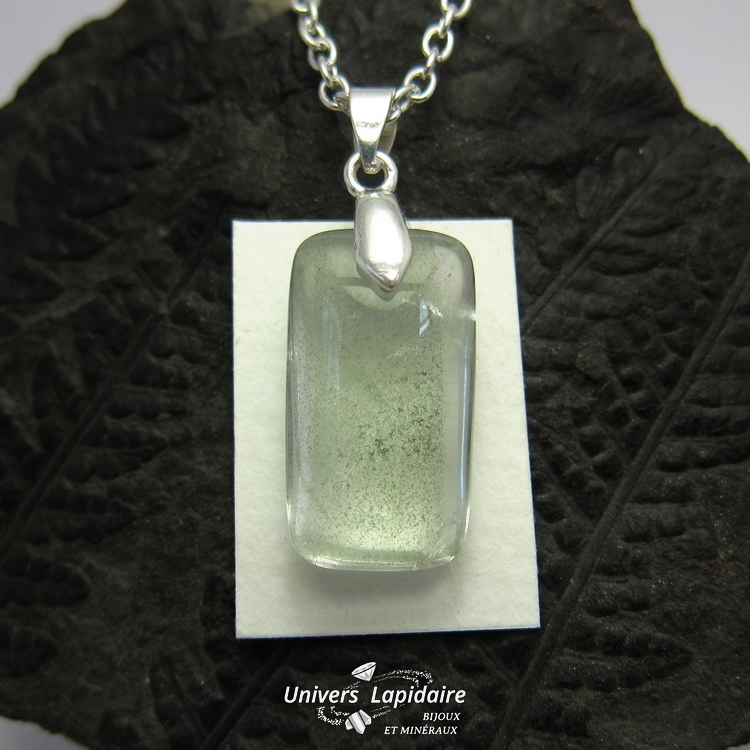collier quartz fantôme