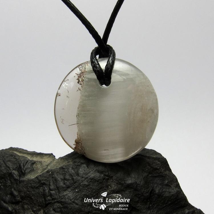 collier quartz fumé