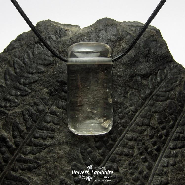 collier cristal de roche