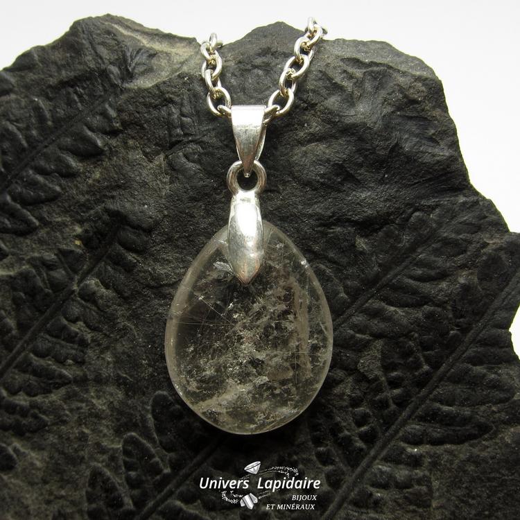 collier quartz rutile