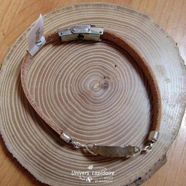 bracelet quartz rutile